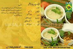 imli aur podenay ki chatni masala tv rida aftab Imli Aur Pudinay ki Chatni Recipe by Rida Aftab Masala TV