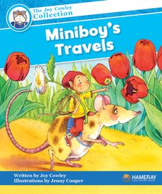 $5.95 Miniboy's Travels - Part of the Blue Series: Miniboy and Mousie travel to Vegetable Jungle in the Land of Garden.