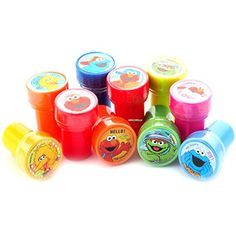 Elmo and Friends Stampers Party Favors (10 Stampers) Elmo https://smile.amazon.com/dp/B00W9HL9C0/ref=cm_sw_r_pi_dp_x_MqyzzbHTHGYSM