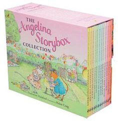 The Angelina Ballerina Storybox Collection - 12 Books(Collection):0140919333