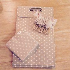 Noël - Étoiles - Packaging