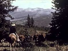 Movie about Grandpa Gus :)  @carlynro  Roberson Hereford Ranch in Gunnison, Colorado: American Cowboy (Part I) (1950) - CharlieDeanArchives	http://youtu.be/2zdiRndXgqo