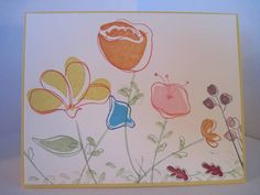 Awash with Flowers by galleryindex - Cards and Paper Crafts at Splitcoaststampers