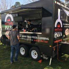 Red Belly Pizza Food Trailer