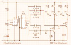 26 best 555 circuit images on pinterest circuit diagram, electric star wiring diagram police lights strobe circuit diagram electronic circuit design, circuit diagram, police lights, electronics