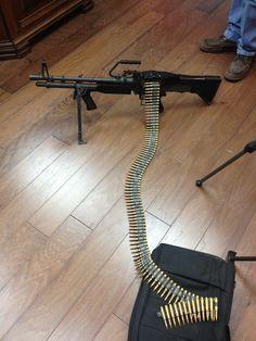 M60 machine gun. My second mos.