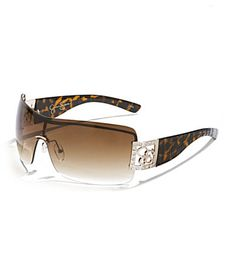 Jessica Simpson Rimless Shield Sunglasses...<3<3