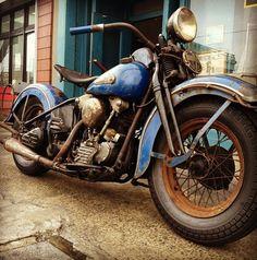 Well Ridden Motorcycle