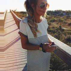 This easy casual dress is perfection