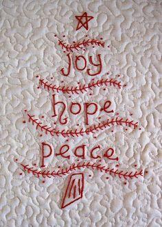 Joy, Hope, Peace ~ Merry Christmas!