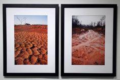 "Stephanie N. Bryan ""Lot 1- Kerala Gardens"" Pigment Print, 2012, 18""x 24"" ""Recreation Area- Stonewood Dr."" Pigment Print, 2012, 18""x 24"" #landscape #art"