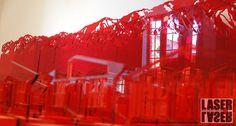 acrilico rojo