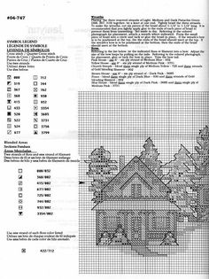 Patrones punto de cruz (solo country) (pág. 24) | Aprender manualidades es facilisimo.com
