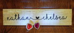 Customized Valentine Sign