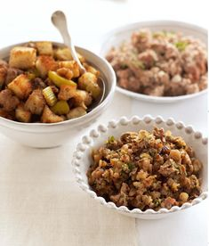 Traditional Pork, Sage & Onion Stuffing - The Happy Foodie
