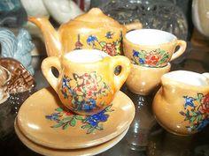 minature occupied japan tea set
