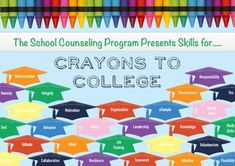 "I made this graphic to compliment the ""ABCs of Crayons to College and Career Program"" featured in the Jily/August edition of the ASCA School Counselor. I loved the program but was not able to find any supporting graphics or images I could use to promote this program or present it to parents, teachers and students. So, I made this poster and intend to display it in school hallways, insert it into school newsletters, and use it on presentation materials. The size is approx. 3000x2100. In the…"