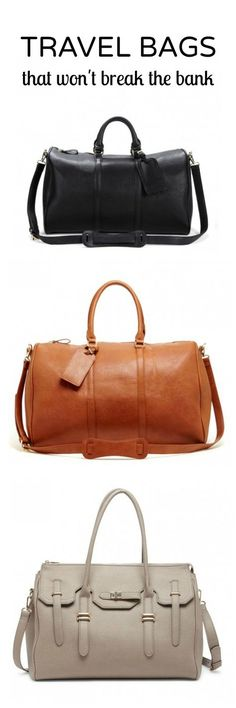 Classic Sole Society weekender bags that'll have you wishing every day were…