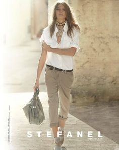 STEFANEL SPRING-SUMMER 2011 WOMENS AD CAMPAIGN