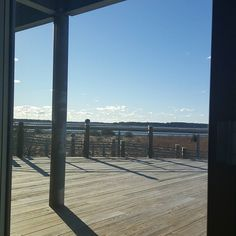 Earning my CRS designation and class is in the Brock Environmental center. Great view! #virginiabeach #crs #realtor #757