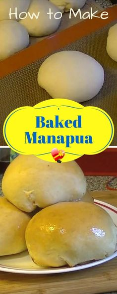 Delicious chicken char siu bao (Manapua) recipe. Local style Chinese snack. Get more island style recipes here.