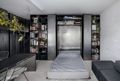 Zero-Room Apartment in Budapest, Hungary / MÁS
