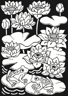 Flora Fantasies Stained Glass: Dover Publications Samples