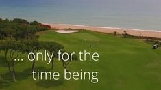 Keep Dreaming Algarve 2020  The #Algarve would love to take you for a round of #golf but – for the time being at least – only a virtual one is possible…  Maintenance teams are working hard to deliver pristine golf courses for your next visit.  #Portugal #CantSkipHope #stayhome #travellater ⛳️