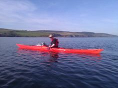 Sea paddling in the Moray Firth