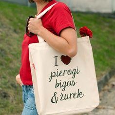 #dlasiostry #niezchinzpasji - bo szuka Męża. Niech widzą, że to dobra kandydatka na Zone ;) Pierogi, Paper Shopping Bag, Reusable Tote Bags, Retro, My Love, Womens Fashion, Neo Traditional, Women's Fashion, Rustic
