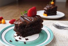 One Bowl Moist Chocolate Cake