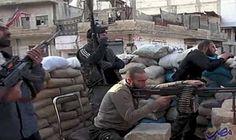 الطائرات الحربية تقصف دارة عزة وتقتل 7…: دارت اشتباكات وصفت بالعنيفة في محاور الشيخ خضر وبستان الباشا والهلك في مدينة حلب بعد منتصف ليل…