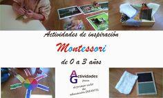 Actividades de inspiración Montessori en los 3 primeros años       Una de las ideas básicas del método Montessori es SEGUIR AL NIÑO, por lo...