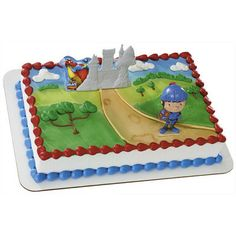 Mike The Knight Cake Topper Kit Birthday Party Supplies toys cake decorating baking
