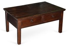 2-Drawer Elm Coffee Table Now: $419.00 							  							Was: $699.00