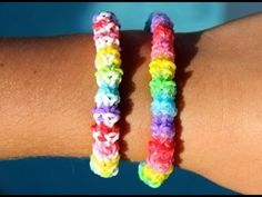 Rainbow Loom Nederlands - Gumdrop Armband - Loom bands