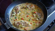 Kalorienarme Gemüsepfanne mit Hähnchen, ein sehr leckeres Rezept aus der Kategorie Kochen. Bewertungen: 2. Durchschnitt: Ø 3,3.