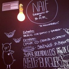 Naif Sandwich & Bar à Madrid, Madrid