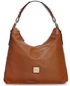 Dooney & Bourke Handbag, Leather Hobo - Dooney & Bourke - Handbags & Accessories - Macy's