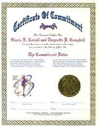 certificates for lesbian commitment ceremonies jpg 422x640