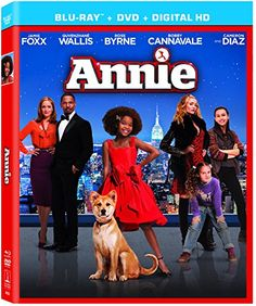 Annie [Blu-ray + DVD + UltraViolet Digital Copy] released March 17, 2015. Can pre-order with Prime shipping too.