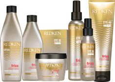Frizz Happens. Dismiss it with Redken's NEW Frizz Dismiss haircare collection