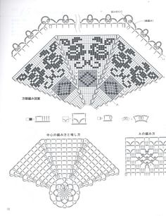 Home Decor Crochet Patterns Part 104 - Beautiful Crochet Patterns and Knitting Patterns Lace Doilies, Crochet Doilies, Crochet Lace, Crochet Mandala Pattern, Crochet Shawl, Crochet Patterns, Mantel Redondo, Crochet Towel, Hippie Crochet