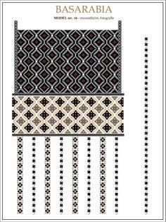 Romanian motifs - North Star - Basarabia