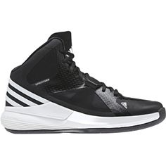 35598a77abef adidas Women s Crazy Strike Basketball Shoes - Black White