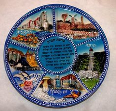 Judaica Ceramic Painted Relief Plate Home Blessing Hebrew Holy Land Israel View Collecting Trends http://www.amazon.com/dp/B00T4FDE9G/ref=cm_sw_r_pi_dp_2UM6vb0NHPWHT