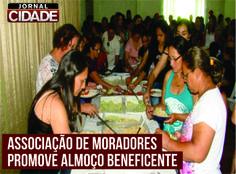A Associação de Moradores do Bairro Santa Helena de Lagoa da Prata promoverá um almoço para ajudar nas obras da Sede da Associação.  Leia mais: http://www.jornalcidademg.com.br/associacao-de-moradores-promove-almoco-beneficente/