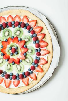 Fruit pizza - a.k.a.