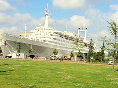 The SS Rotterdam Ship at Katendrecht