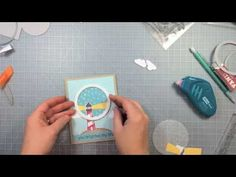 Lawn Fawn - Life is Good + coordinating dies, Hello Sunshine and Let's Polka paper, Circle Stackable Lawn Cuts _ Chari demonstrates how to make a special shaker card.